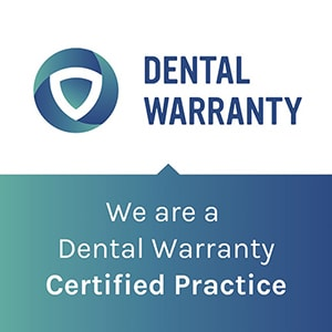 Dental Warranty graphic talking about how The Dental Market can protect your smile investment