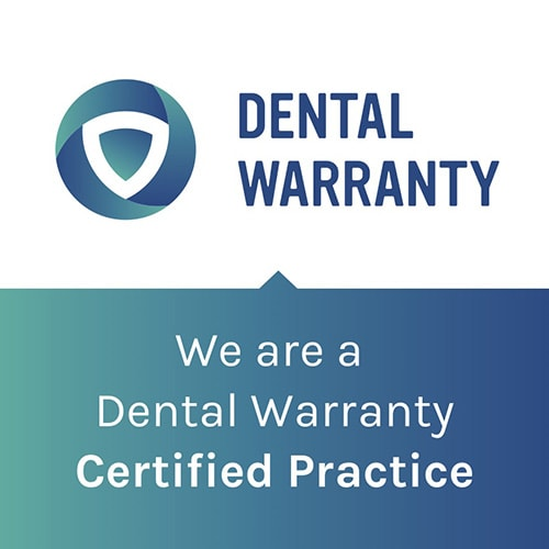 Marketing graphic from Dental Warranty, which protects your smile investment